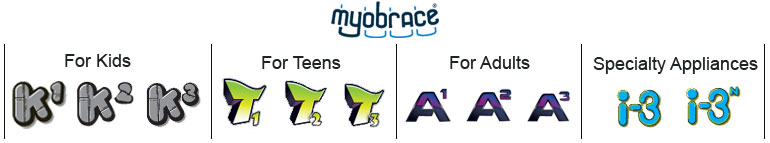 Myobrace (For Kids, Teens, Adults & Specialty Appliances)