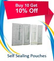 Self Sealing Pouches