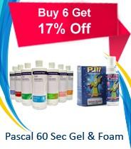 Pacal 60 Sec Gel or Foam