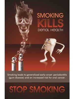 Poster English Smoking Kills Dental Health (Paper) PO-062