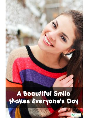 Poster English A Beautiful Smile Makes Everyone's Day - 098