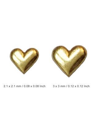 Twinkles Heart 24 K Gold
