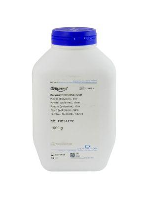 Dentaurum Orthocryl Powder Polymer Clear 1 Kgs - 160-112-00