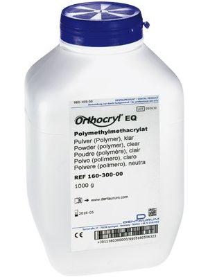 Dentaurum Orthocryl EQ Powder Polymer Clear 1 Kgs - 160-300-00