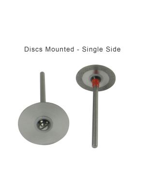 Strauss Diamond Discs 0.10 - Interproximal Stripping Fine Single Side 1/pk