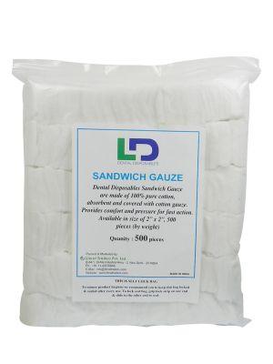 LD Sandwich Gauze (Non-Sterile) 500 pcs - LD-010