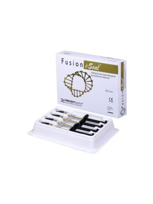 Prevest Fusion i-Seal Light-Curing Glass lonomer Composite Cement Eco Pack 4 x 2g Syringes - 30003