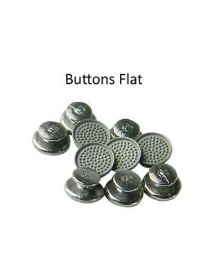 Morelli Bondable Buttons Round Base 10/pk
