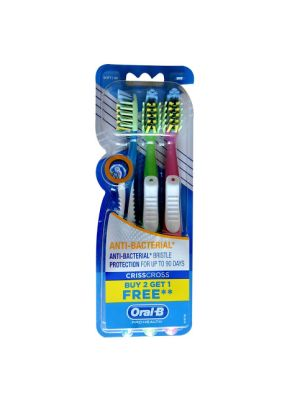 Oral-B ProHealth Anti-Bacterial Toothbrush 3/pk - 4902430742597