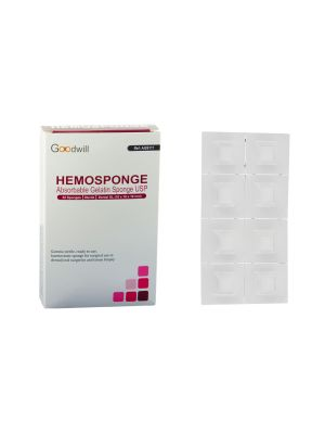 Goodwill Hemosponge 10x10x10 MM Absorbable Gelatin Sponge  32/pk - AGS111