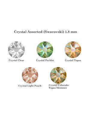 Twinkles Crystal Assorted (Swarovski) 1.8 mm - 5/pk - AS4