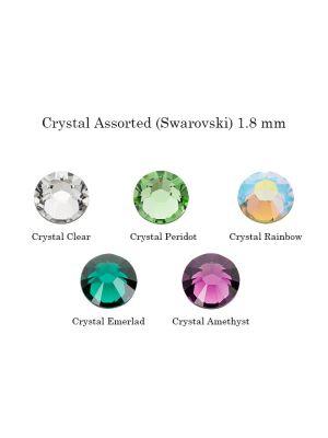 Twinkles Crystal Assorted (Swarovski) 1.8 mm - 5/pk - AS3