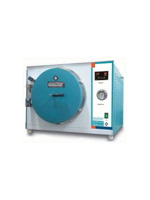 Equitron Autoclave Prabal Single Level with Drying - Front Loading Series - Advanced (Class S)