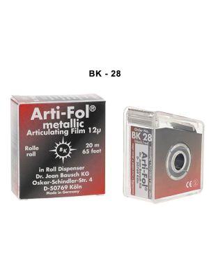 Bausch Arti Fol Metallic 12µ Microns 22 mm 20 Mts