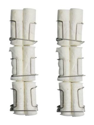 Capri Cotton Roll Holder 6/pk - CAP-019