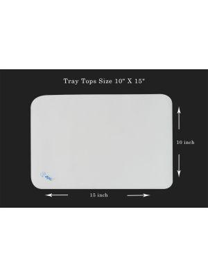 Capri Disposable Tray Tops Size 10
