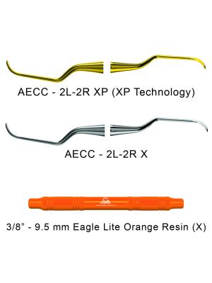 American Eagle Universal Curettes Columbia 2L-2R Resin Handle