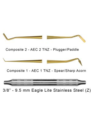 American Eagle Composite Plastic Filling Instruments with XP Technology