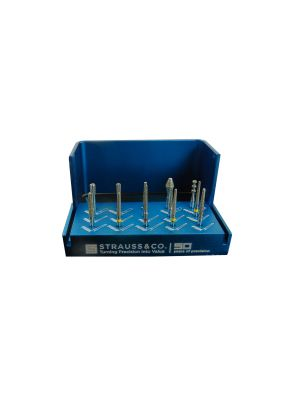 Strauss Crown CR/BR Preparation Kit of 14 Burs - CPSET4747