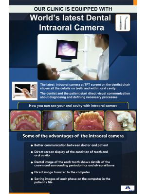 Poster English World's Latest Dental Intraoral Camera (Paper) PO-082
