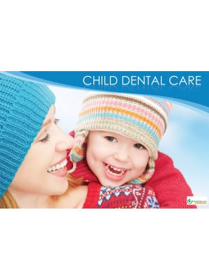 Poster English Child Dental Care - 086