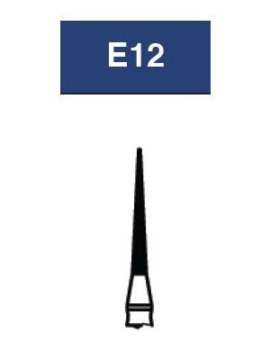 Strauss FG Diamond Burs Needle 012 6/pk - E12