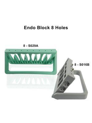 LD Endo Block 8 Holes for Burs 1/pk