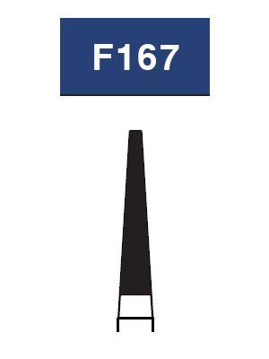 Strauss FG Diamond Burs Flat End Taper 012 6/pk - F167 / TF-S21