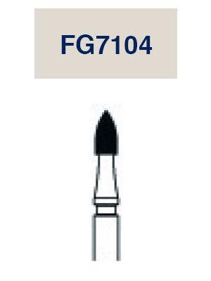Strauss Carbide Flame12 Flute 014 3/pk - FG7104