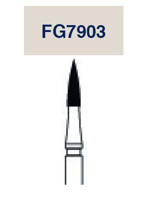 Strauss Carbide Needle Bur 12 Flute 012 3/pk - FG7903