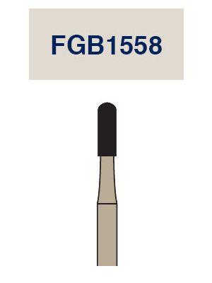 Strauss Cardbide Metal Cutting Barracuda Round End Cross Cut Fissure Bur 012 3/pk - FGB1558