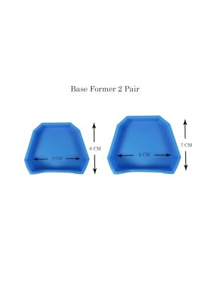 Fox Silicone Base Former 2 Pairs - FRBF-KN2