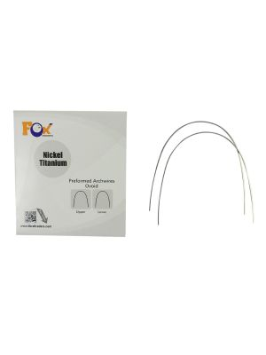Fox Niti Preformed Wire Ovoidform Pack of 10 Pcs
