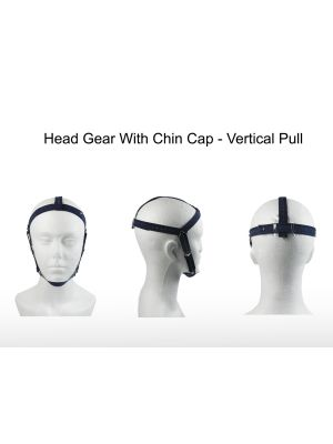Rabbit Force Head Gear With Chin Cap 1/pk