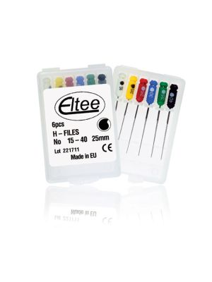 Eltee H Files Pack of 6 pcs