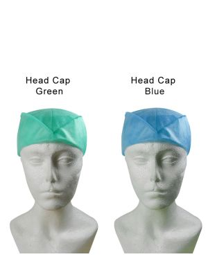 Capri Disposable Head Caps 50/pk