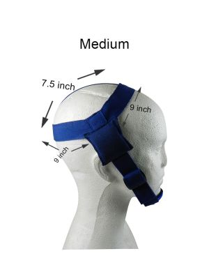 Captain Ortho Head Gear With Chin Cap 1/pk
