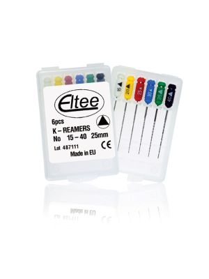 Eltee K - Reamers Files Pack of 6 pcs