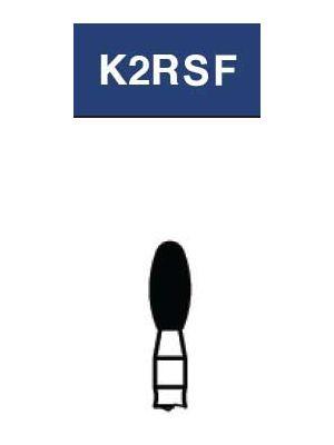 Strauss FG Diamond Burs Egg/Football 023 3/pk - FG-K2RSF