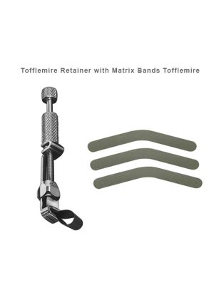 LD Tofflemire Retainer with Matrix Bands Tofflemire 12 Pcs - LD-148