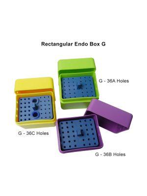 LD Autoclavable Rectangular Endo Box G - 36