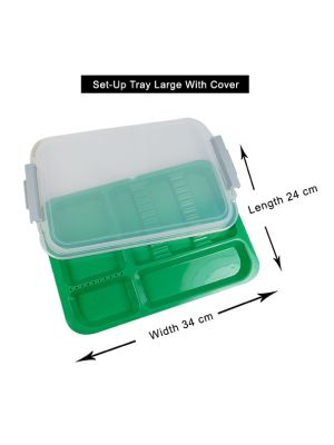 LD Set - Up Tray Large With Cover - LD-263