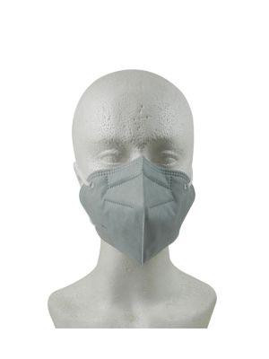 LD N95 Reusable 5 Layer Filtration Face Mask Light Grey / White 1/pk - LD-356