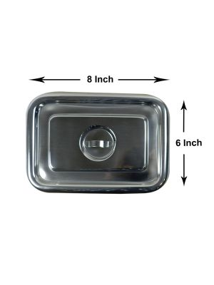 LD Stainless Steel Tray with Cover 8