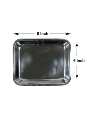 LD Stainless Steel Instrument Tray 8