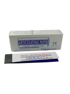 LD Articulating Paper Thin Blue 71µ Microns 144 Pcs - LD-7001