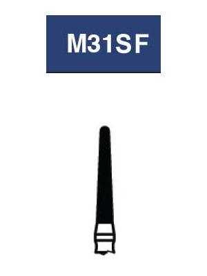 Strauss Round End Taper 016 Super Fine - 6/pk - M31SF