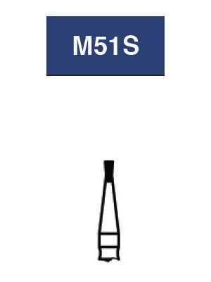 Strauss FG Diamond Burs Double Inverted Cone 010 6/pk - M51S / DI-41