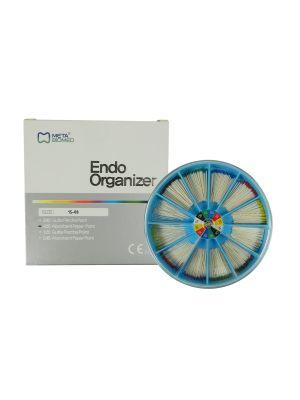 Meta Absorbent Paper Points (PP) Endo Organizer Kit Size # 15 - 80 400/pk - MB-PPEKIT