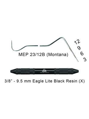 American Eagle Explorer / Probe 23/12 Montana Black - MEP23/12B